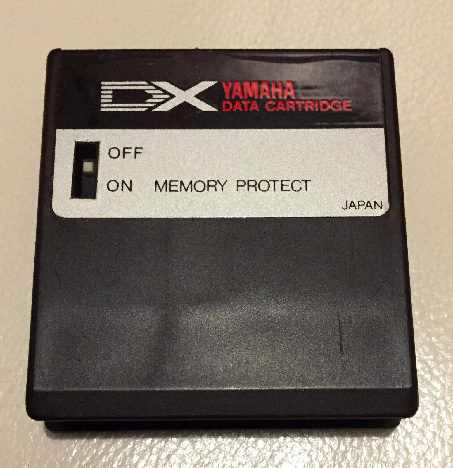 Yamaha DX7 DX RAM DATA Cartridge For DX-7 Mk1 SyntheGrößer