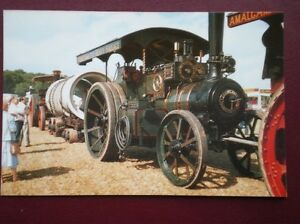 POSTCARD AMALAGATED HEAVY HAULAGE TRACTION ENGINE - Tadley, United Kingdom - POSTCARD AMALAGATED HEAVY HAULAGE TRACTION ENGINE - Tadley, United Kingdom