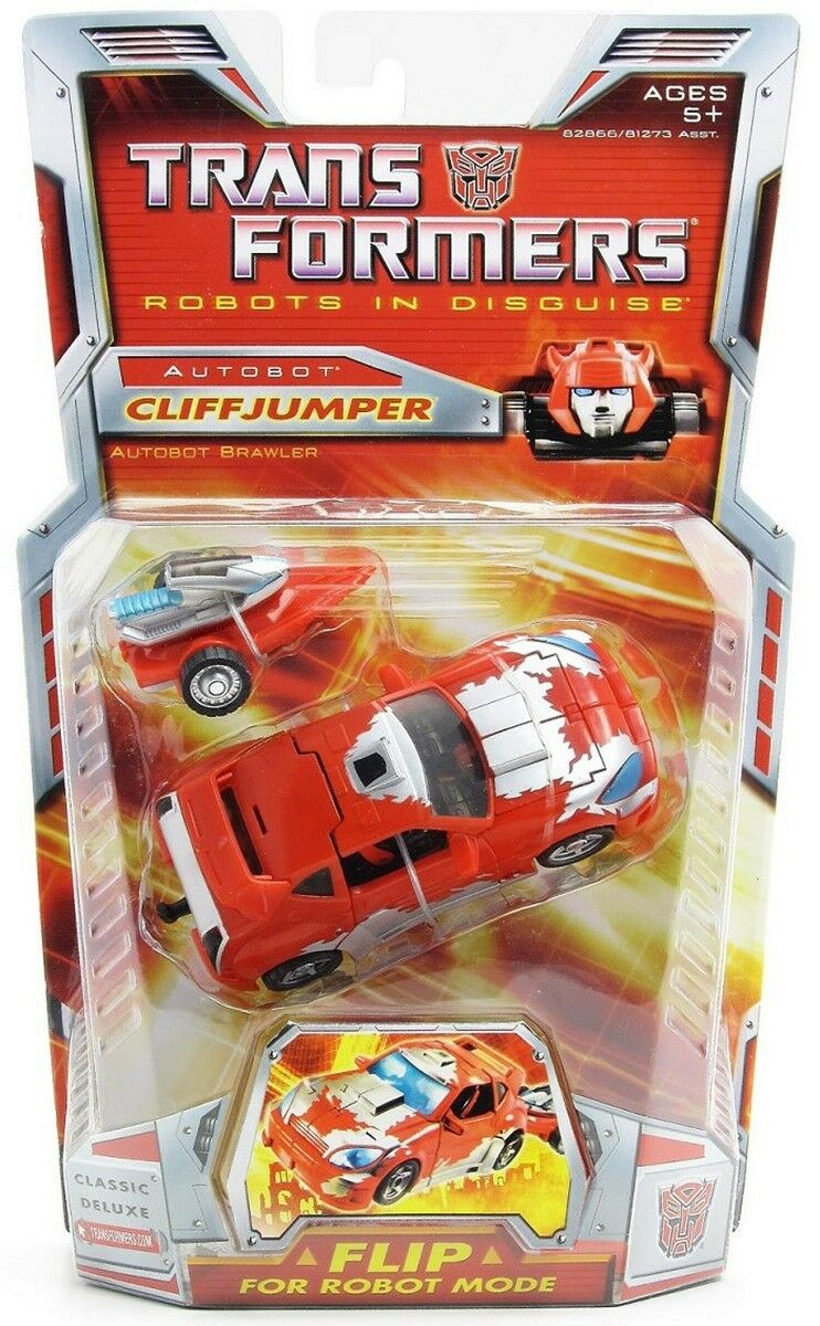 TRANSFORMERS ROBOTS IN DISGUISE AUTOBOT CLIFF JUMPER  BRAND NEW DATED 2006