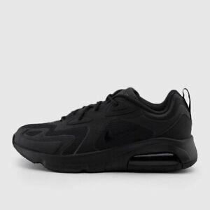 Zapatillas en triple negro Air Max 200 AQ2568 003 de Nike