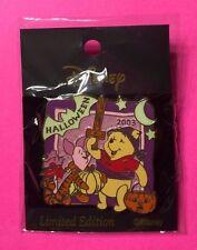 Pooh & Piglet, JDS M&P Halloween 2003, Glow-in-the-Dark Disney Pin, LE1000