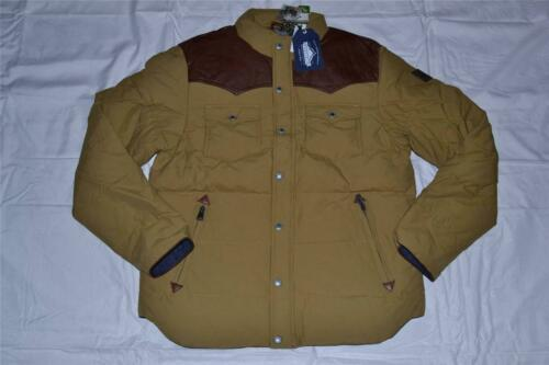 AUTHENTIC PENFIELD MENS STAPLETON  TAN ALL SIZES WATER RESISTANT DOWN JACKET