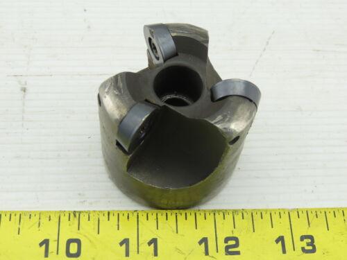 "K Tool OC2000 2/"" 3 Flute 10° Octa-Mills Indexing Face Mill 3//4/"" Bore"