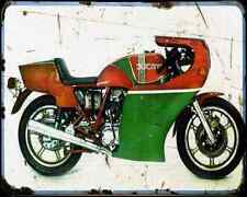 Ducati 900 Mhr 79 2 A4 Photo Print Motorbike Vintage Aged