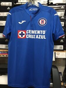 dccb30b5 Joma Cruz Azul Home Jersey 2019 Blue White Red Size Large Only ...