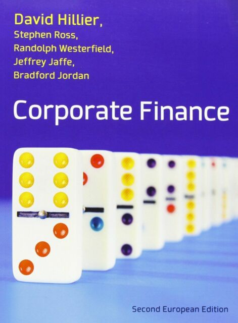 Corporate Finance by David Hillier, Stephen A. Ross (Paperback, 2013)