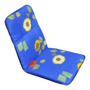 Garden-Furniture-Pads-034-Elida-034-Padding-Seat-Cushion-Chair-Blue