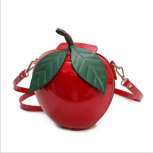 Fashion Women Apple Bag Party Wedding Clutch Purse Shoulder Messenger Handbag