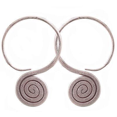 Thai Earrings Karen Hill tribe Silver