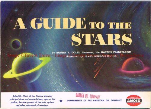 1951 American Oil Company AMOCO Guide to the Stars Super Permalube Darden