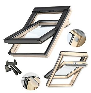 velux schwingfenster uw 1 0 naturholz gll 3 fach. Black Bedroom Furniture Sets. Home Design Ideas