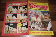 CONNY  # 138 -- MÄDCHEN - PFERDE - ABENTEUER  // mit Poster 1. Auflage 1.1.1983