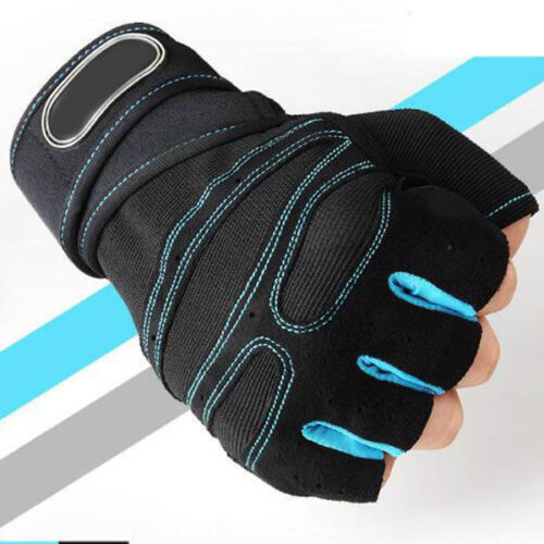 Men Women Gym lifting Gloves Training Weight Fitness Wrist Wrap Sport Exercise
