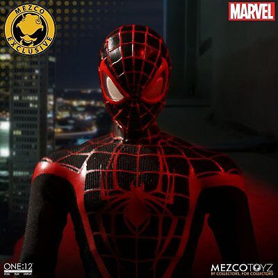 Mezco One:12 Collective ULTIMATE SPIDER-MAN Miles Morales SDCC CON EXCLUSIVE