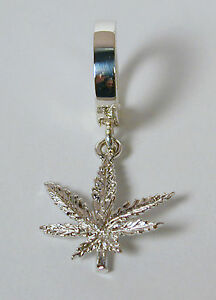 TummyToys-Navel-Belly-Ring-with-Sterling-Silver-Marijuana-Leaf-Charm-Free-Ship