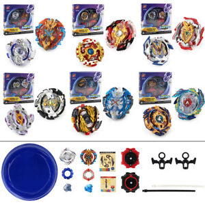 lot de 2 toupie beyblade burst fusion avec lanceur et arene ar ne combat jouet ebay. Black Bedroom Furniture Sets. Home Design Ideas