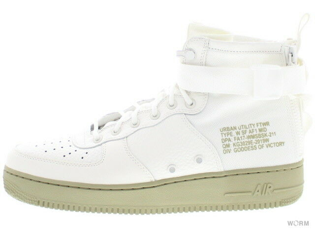 NIKE W SF AF1 Mid aa3966-100 IVOIRE IVORY-Mars stone Taille 12