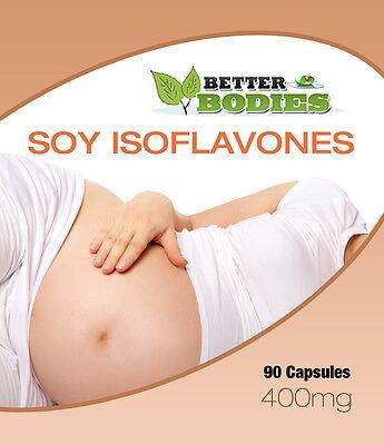Soya Isoflavones Capsules Safe & Natural UK Manufactured
