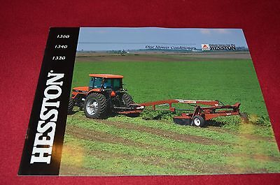 Hesston 1360 1340 1320 Discbine Disc Mower Dealer's Brochure 0079017489  LCOH | eBay