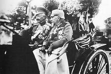 WW1 - Guerre 14/18 - Le Kaiser Guillaume II avec le roi Ferdinand de Bulgarie