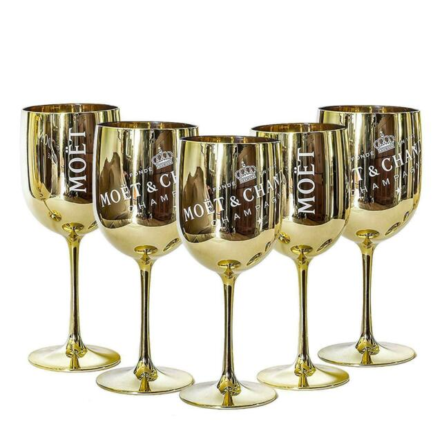 Moet Chandon Imperial Brut Gold Glass Champagne Goblet Flute BNIB x 1!