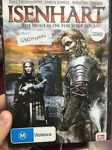 Isenhart-ex-rental-region-4-DVD-2011-German-adventure-movie-RARE