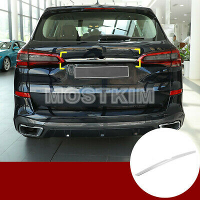 Stainless Rear Tailgate Door Trunk Lid Cover Trim 1pcs for VOLVO XC60 2009-2015