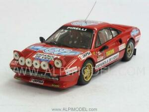 Ferrari 308 Gtb Rally Spain 1984 Zanini - Osona 1:43 Best 9524