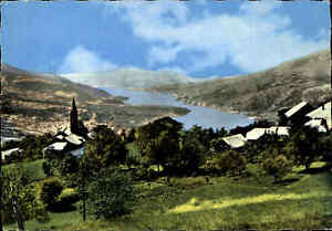 Frankreich-France-Carte-Postale-Embrun-Saint-Sauveur-Panorama-Ansichtskarte-AK