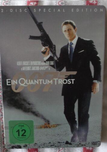 1 von 1 - DVD James Bond Ein Quantum Trost 2 Disc Special Edition Metall Cover Blockbuster