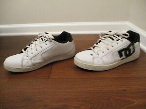15 DC Shoes Net Skateboard Shoes White