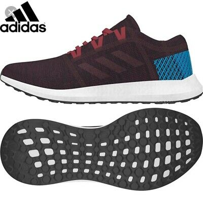 Humor Mens Adidas Pureboost Go Red Multi Sport Athletic Running Shoes Ah2326 Sz 8 Clothing, Shoes & Accessories 8.5