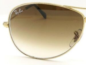 a1f656fdb6 Image is loading RAY-BAN-REPLACEMENT-LENSES-COCKPIT-3362-Brown-Gradient-