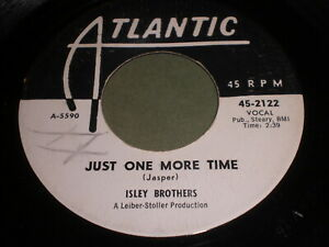 Isley Brothers: Just One More Time / A Fool For You 45