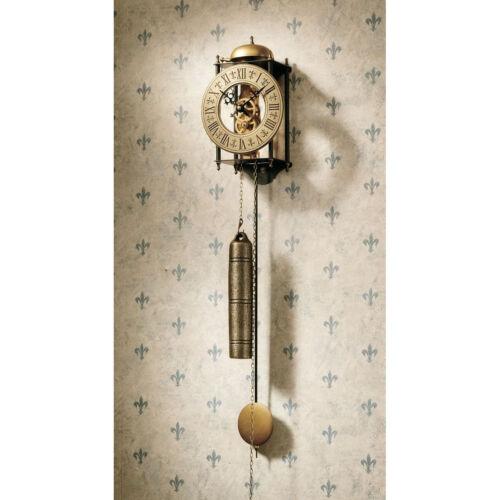 Vintage Regulator Wall Clock Antique Style Roman Numeral Old World Decor