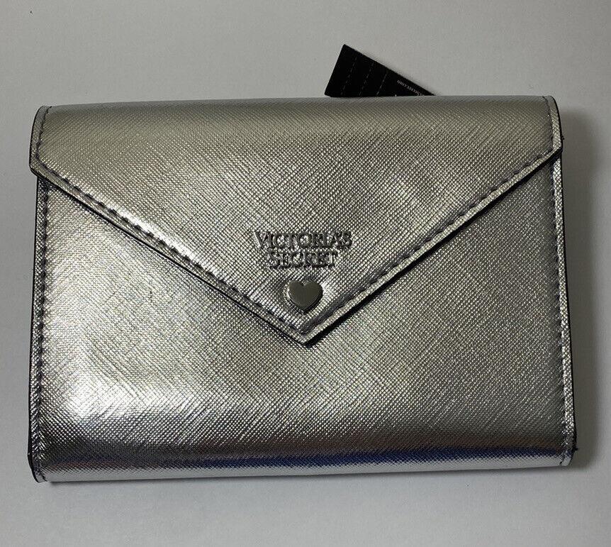 NWT Victorias Secret Wallet Button Closure W/ Card Holders & Zipper