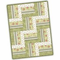 Welcome Home Flannel - 12 Block Rail Fence Quilt Pod