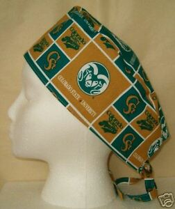 biggest discount many fashionable most popular Surgical Scrub Hat Cap Made w Colorado State University Fabric ...