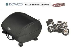 Dowco-Fastrax-Motorcycle-Tail-Bag-Saddlebags-Rear-Seat-Carrier-Luggage-Sportbike