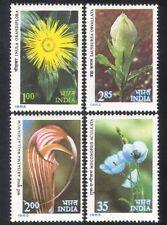 India 1983 Himalaya flores/amapola/Lily/plantas/conservación de la naturaleza/4v Set n39321