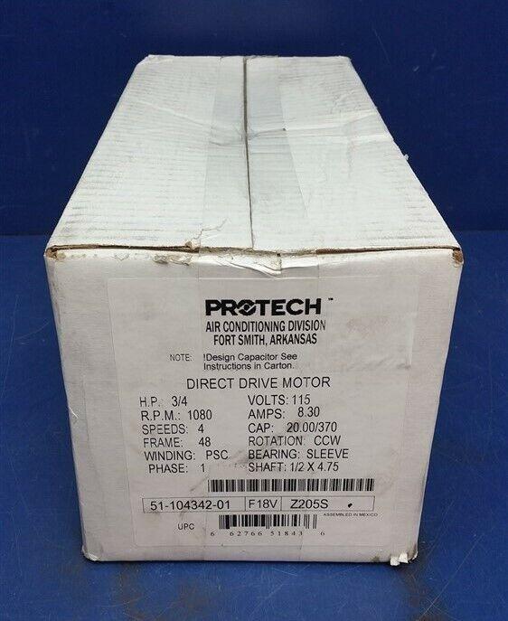 GE Genteq RHEEM Ruud Meteo King 1//2 HP 115v FORNO Blower Motor 5KCP39KGS018S