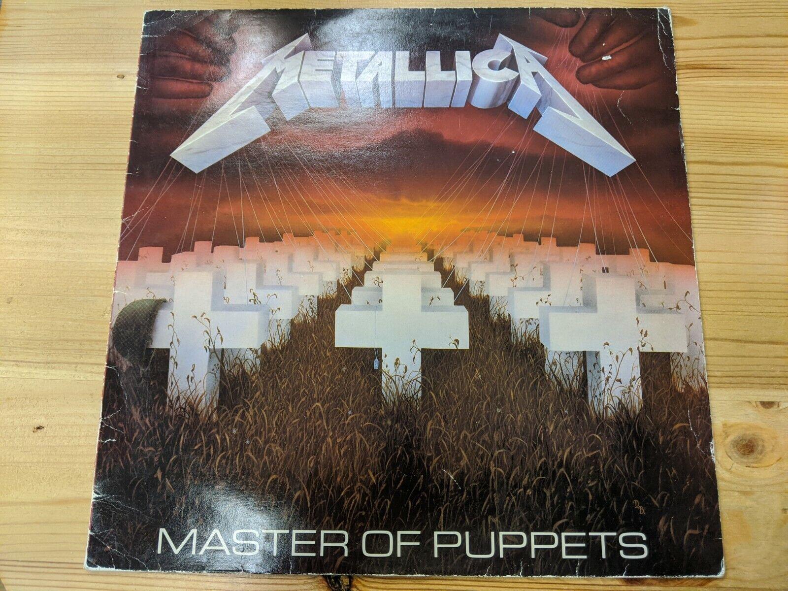 Mfn 60 12 33rpm 86 Metallica Master Of Puppets 1st Press