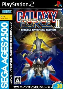 PS2-Sega-Ages-2500-Vol-30-Galaxy-Force-II-PlayStation2-Japan-Game-Japanese