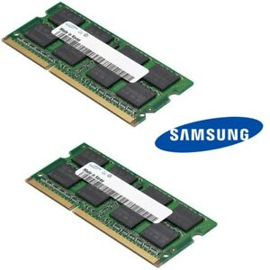Samsung-4GB-Kit-2-x-2GB-1Rx8-PC3-12600S-DDR3-Laptop-RAM-Memory-SODIMM