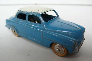 Dinky Toys France Série 24 Simca Aronde Ref 24u 1956 Bleue-blanc Bon État