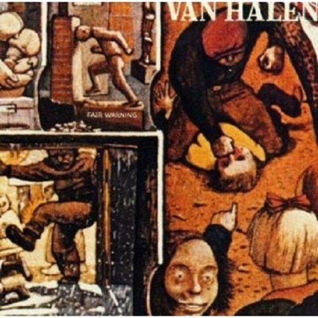 VAN HALEN - FAIR WARNING (REMASTER) CD POP NEU