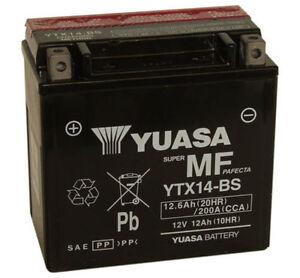 BATTERIA-MOTO-ORIGINALE-YUASA-YTX14-BS-12AH-BUELL-XB12X-XT-Ulysses-1200-06-10