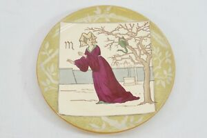 Minton-039-s-Pottery-Signs-of-the-Zodiac-Plate-Scorpio-British-Art-Pottery