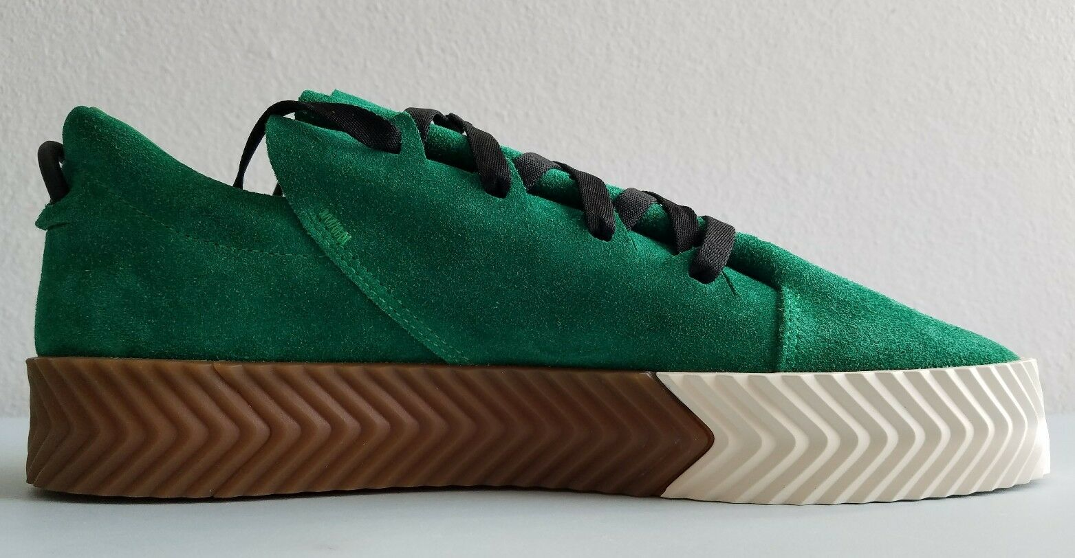 Adidas Originals Alexander Wang AW Skate Green BY8907 Mens Size 6 New