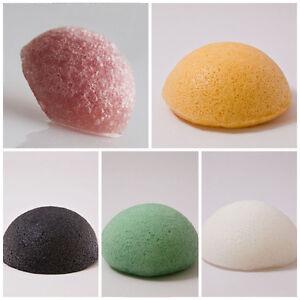 1pcs-Eponge-Konjac-100-Naturel-Douceur-Laver-Nettoyer-Visage-Massage-Exfoliant